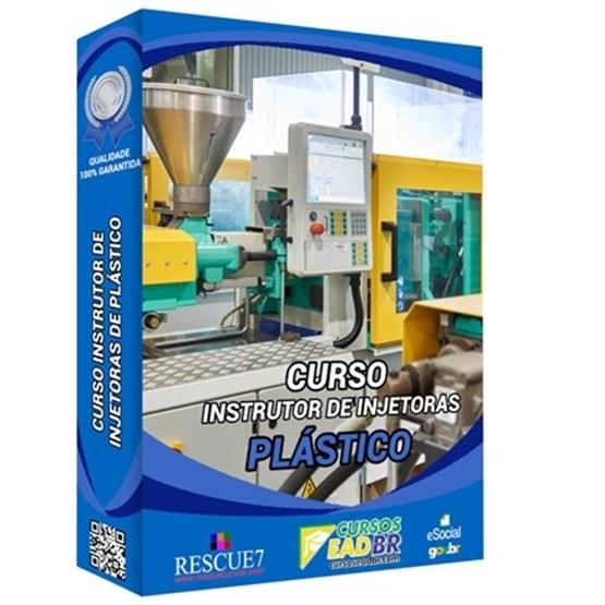 Curso Instrutor de Injetoras de Plástico | Treinamento | EAD | Presencial | 12080