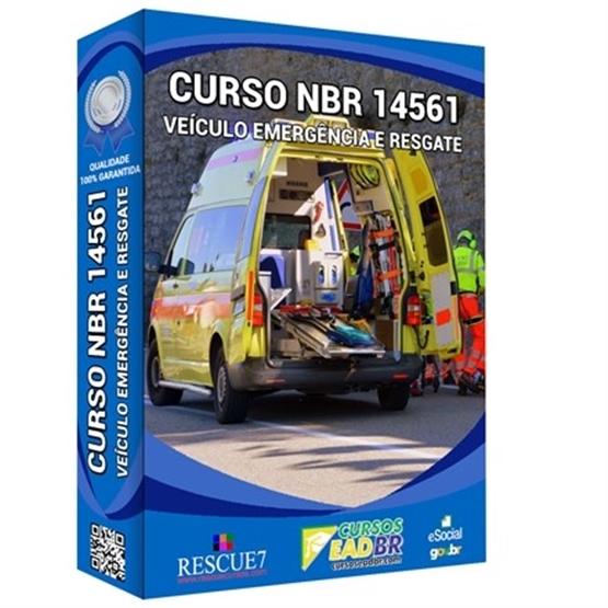 Curso NBR 14561 Veículo Emergência e Resgate | Treinamento | EAD | 103777