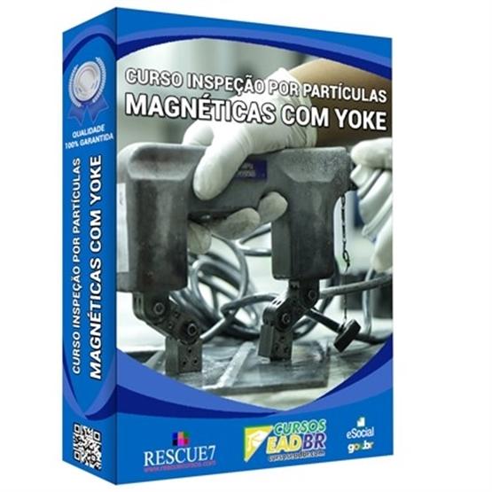 Curso Inspeção por Partículas Magnéticas com Yoke | Treinamento | EAD | 105146