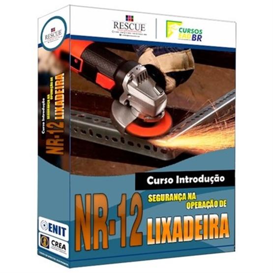 Curso Introdução NR-12 Segurança na Operação de Lixadeira