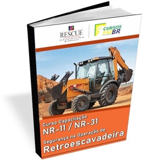 Operador de Retroescavadeira NR 11 - ref: 1481