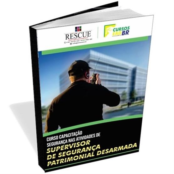 Capacitação Supervisor Segurança Patrimonial| EAD | Ao Vivo |Presencial | Online | 64386