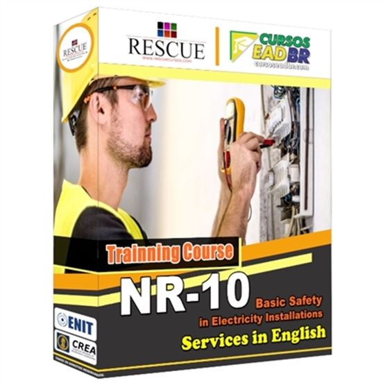 NR 10 Basic Training - Safety in Facilities and Services with Electricity - Ref:10036