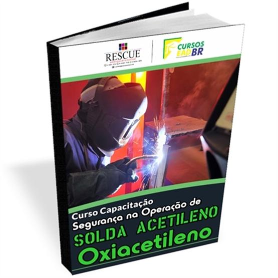 Curso Solda Oxigênio Acetileno (Oxiacetileno) | EAD | Ao Vivo | 11545