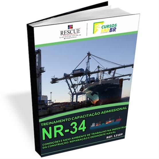 Treinamento Capacitação Admissional NR-34 - Ref:13189