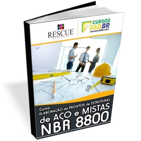 Curso Como Elaborar Projeto Estruturas de Aço e Mistas - NBR 8800 - ref: 111834