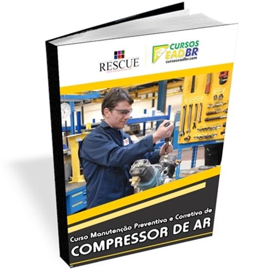 Curso Manutenção Preventiva Corretiva Compressor Ar | EAD | Ao Vivo | 56378