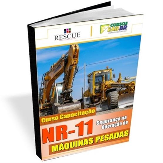 Curso Máquinas Pesadas NR-11 - Ref:1308 - EAD ou ao Vivo