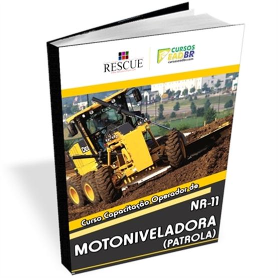 Curso Operador de Motoniveladora (Patrola) NR 11 - ref: 1452 - PDF ou Ao Vivo