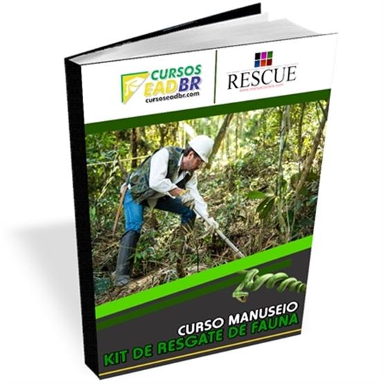 Curso Manuseio do Kit de Resgate de Fauna - ref: 65292