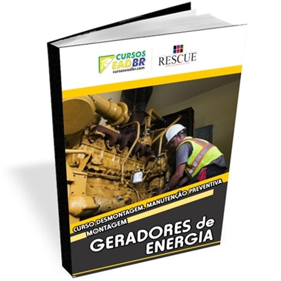 Curso Desmontagem, Manutenção Preventiva Montagem Geradores Energia | 56313