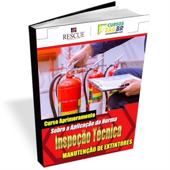 Curso Inspeção Técnica e Manutenção Extintores | EAD | Ao Vivo | 74489