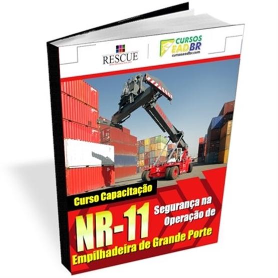 Curso Capacitação NR-11 Segurança na Operação Empilhadeira de Grande Porte - Ref:11866
