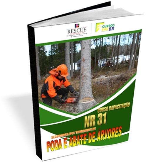 Curso Poda e/ou Abate de Árvores NR-31   EAD   Ao Vivo   Presencial   13826