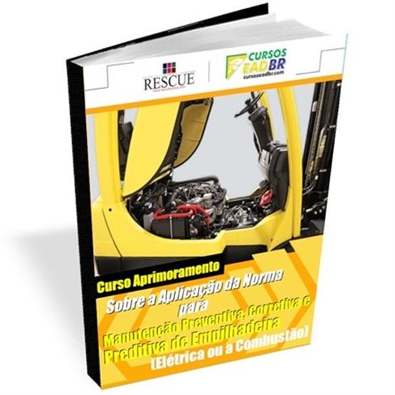 Curso Manutenção Empilhadeira Elétrica Combustão | EAD | Ao Vivo | Presencial | Online | 1493