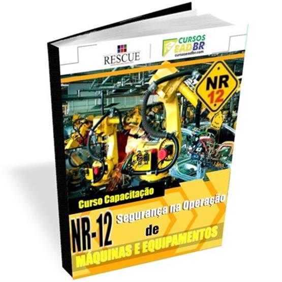 Curso NR-12 Máquinas Equipamentos | EAD | Ao Vivo | Presencial | 9781