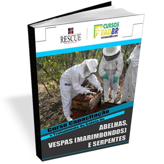 Treinamento Coleta Abelhas Vespas Marimbondos Serpentes | EAD | Ao Vivo | 15415