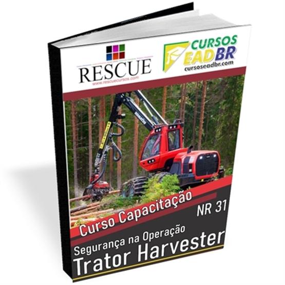 Curso Operador de Trator Harvester NR 31   EAD   Ao Vivo   Presencial   Online   143403