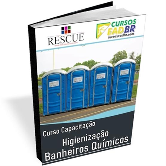 Curso Higienização em Banheiros Químicos | EAD | Ao Vivo | Presencial | Online | 143444
