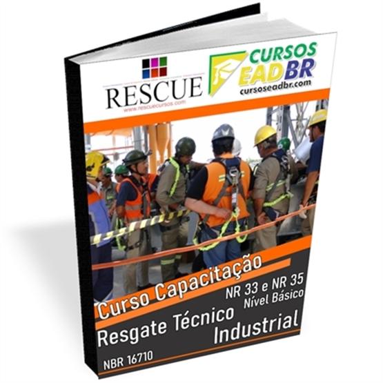 Curso Resgate Técnico Industrial NR 33 e NR 35 – Nível Básico   EAD   Ao Vivo   Presencial   Online   143531