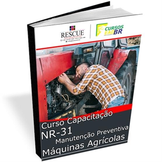 Curso de Manutenção Preventiva de Máquinas Agrícolas | EAD | Ao Vivo | Presencial | Online | 66678