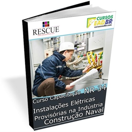 Curso NR 34 Instalações Elétricas Provisórias | EAD | Ao Vivo | Presencial | Online | 74735