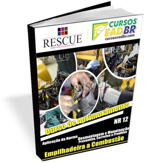 Curso Manutenção de Empilhadeira a Combustão | EAD | Ao Vivo | Presencial | Online | 12026
